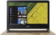Notebooks, Laptops - Acer Swift 7 SF713 51 M319 Core i5 7Y54 1.2 GHz Win 10 Home 64 Bit 8 GB RAM 256 GB SSD 33.8 cm (13.3) IPS 1920 x 1080 (Full HD) HD Graphics 615 Wi Fi, Bluetooth Schwarz, Gold kbd Deutsch  - Onlineshop JACOB Elektronik