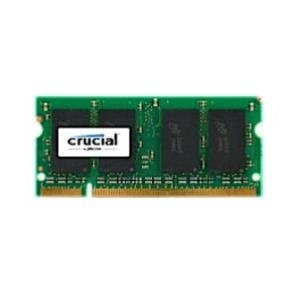 Crucial - DDR2 2 GB SO DIMM 200-PIN 667 MHz / PC2-5300 CL5 1.8 V ungepuffert nicht-ECC (CT25664AC667)