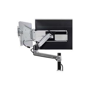 Ergotron Tandem - Befestigungskit (Gelenkarm, Halter) für LCD-Display/Tablet Gebürstetes Aluminium Bildschirmgröße: 50,8 68,6 cm (20 68,60cm (27)) Tischmontage (optional) (85-046-231) jetztbilligerkaufen