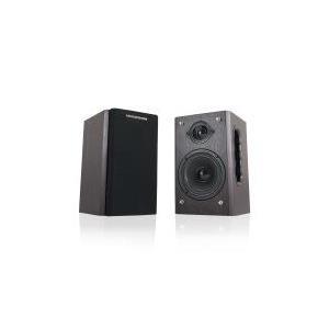 MODECOM MC-HF10 - Lautsprecher - Für PC - 2.0 - 10 Watt (Gesamt) - braun