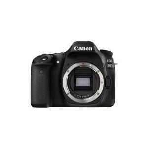 Spiegelreflexkameras - Canon EOS 80D Digitalkamera High Definition 60 BpS SLR 24,2 MPix nur Gehäuse Wi Fi, NFC (1263C027AA)  - Onlineshop JACOB Elektronik