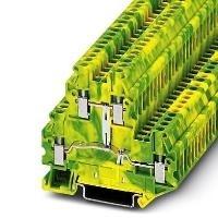 Phoenix Contact Durchgangsreihenklemme UTTB 2,5-PE Grün-Gelb 50St. jetztbilligerkaufen