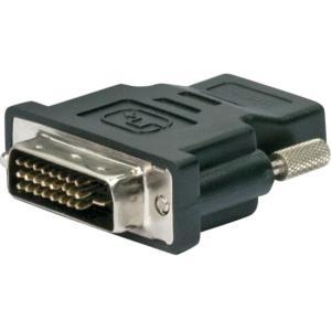 Schwaiger HDMI - DVI-D - HDMI - DVI-D - Weiblich - Männlich - Nickel - Schwarz (HDMD1590533)
