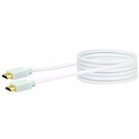 Schwaiger 1.5m HDMI m/m - HDMI - HDMI - Männlich - Männlich - Gold - Weiß (HDM15532)