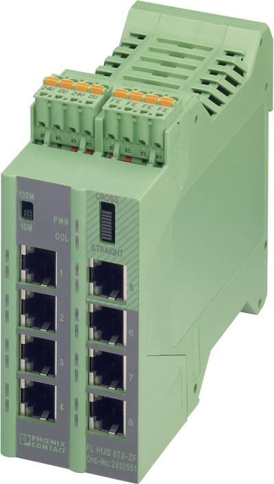 Phoenix Contact Industrieswitch unmanaged FL HUB 8TX-ZF Anzahl Ethernet Ports 8 LAN-Übertragungsrat jetztbilligerkaufen