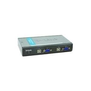 D-Link DKVM 4U - KVM-Switch - USB - 4 Anschlüss...