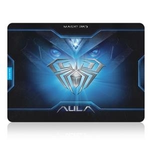 Gamingzubehör - AULA Magic Pad Gaming Mauspad, schwarz blau, 400 (L) x 320 (W) x 3 (T) mm (120558)  - Onlineshop JACOB Elektronik