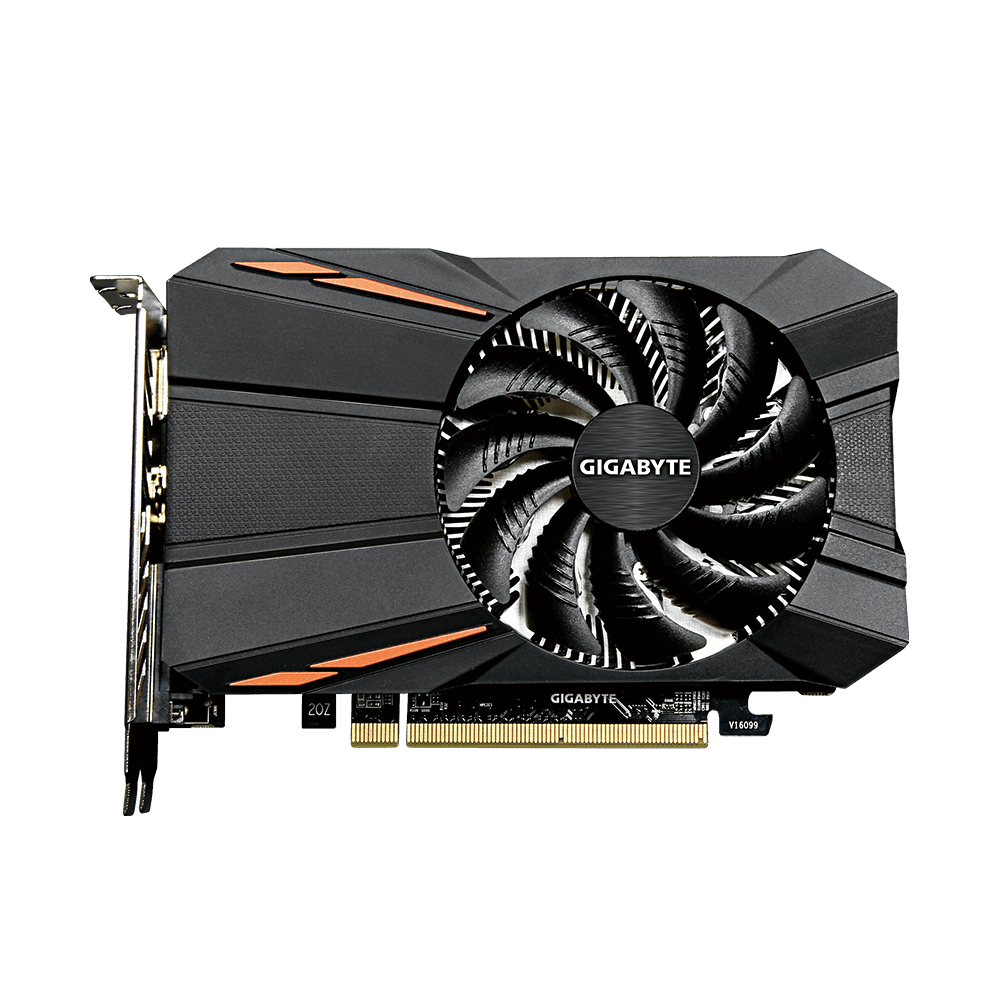 Gigabyte Radeon RX 550 D5 2G - Grafikkarten - Radeon RX 550 - 2 GB GDDR5 - PCIe 3.0 x16 - DVI, HDMI, DisplayPort