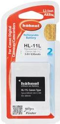 Hähnel HL-11L - Batterie - Li-Ion - 630 mAh - für Canon IXUS 17X, 18X, IXY 150, 170, 190, 640, PowerShot SX420, PowerShot ELPH 180, 190, 360