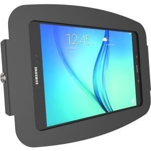 Compulocks Space - Galaxy Tab A 10.1 Enclosure Wall Mount - Black - Gehäuse für Tablett - verriegelbar - Aluminium - Schwarz - Bildschirmgröße: 25.7 cm (10.1) - Wandmontage möglich - für Samsung Galaxy Tab A (2016) (10.1 )
