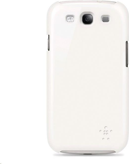 Belkin Case Snap Shield Hazard F8M422cwC01 for Galaxy S3, white, Blister (F8M422cwC01)