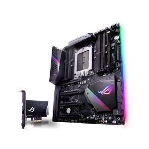 ASUS ROG ZENITH EXTREME - Motherboard - Erweitertes ATX - Socket TR4 - AMD X399 - USB 3,1 Gen 1, USB-C Gen2, USB 3,1 Gen 2 - Bluetooth, 10 Gigabit LAN, Gigabit LAN, Wi-Fi, WiGig - HD Audio (8-Kanal) (ROG ZENITH EXTREME)
