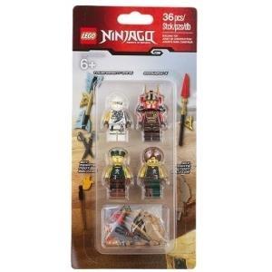 Lego Ninjago Zubehör Kit Teile Wettkampf Zane Samurai X Und 2 Himmelspiraten Soldaten 853544