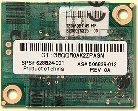 HP Inc HP - Fax / Modem - MDC - 56 Kbps - V.92