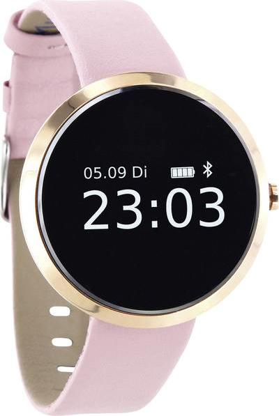 xlyne SIONA XW FIT - Gold - intelligente Uhr mit Band - light rose - einfarbig - Bluetooth - 38 g (54010)