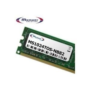 MemorySolution - DDR2 1 GB SO DIMM 200-PIN 800 MHz / PC2-6400 ungepuffert nicht-ECC für Toshiba Portégé M750, M800, Satellite Pro A300, S300, U400, Tecra A10, M10, R10, S10 (PA3668U-1M1G) jetztbilligerkaufen