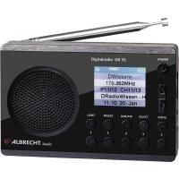 Albrecht DR 70 DAB+ und UKW Radio (27370)