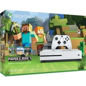 Microsoft Xbox One S - Minecraft Favourites Bun...