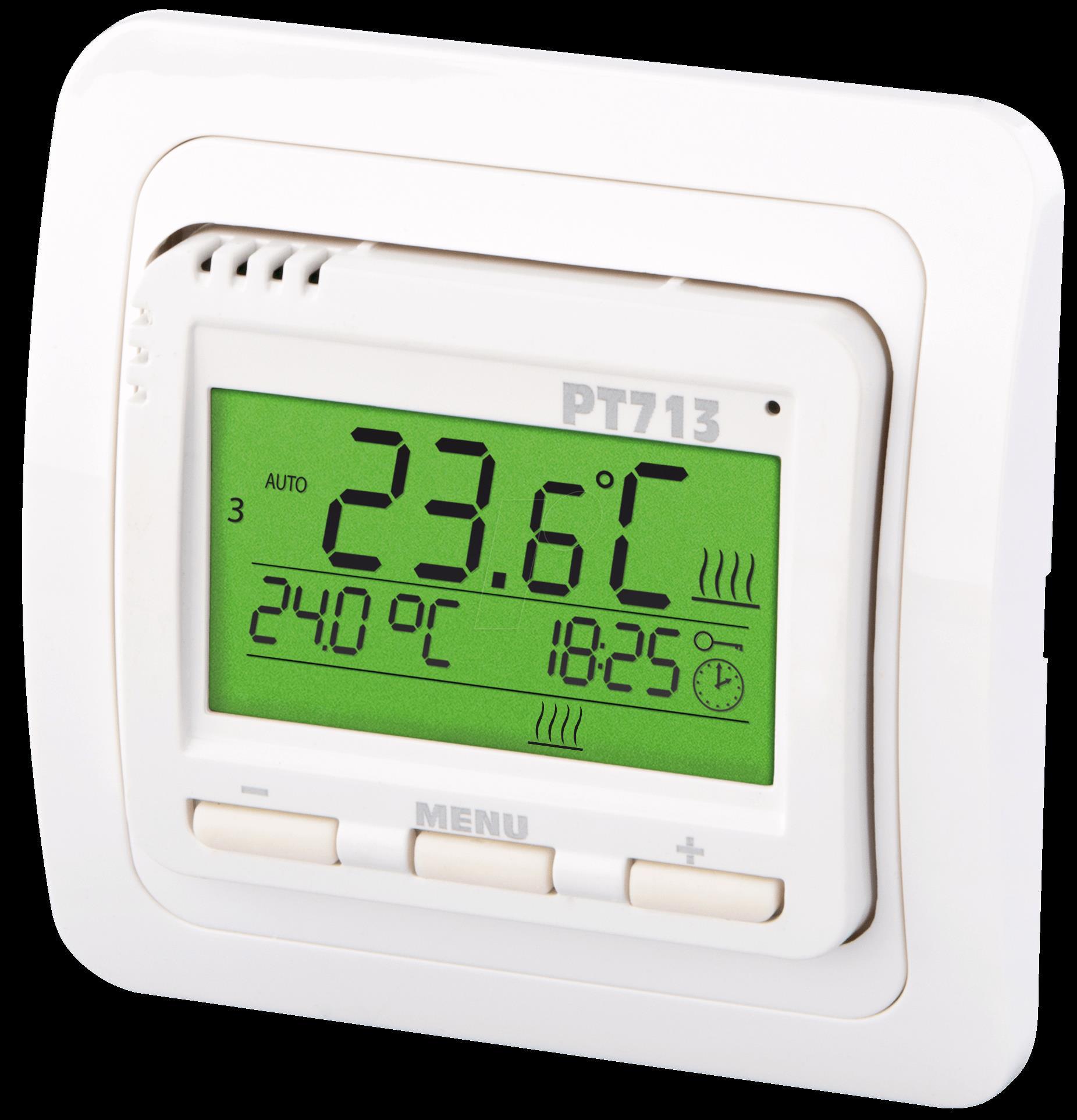 ELEKTROBOCK DE GmbH EB PT713 - Thermostat für Fussbodenheizungen (PT713)
