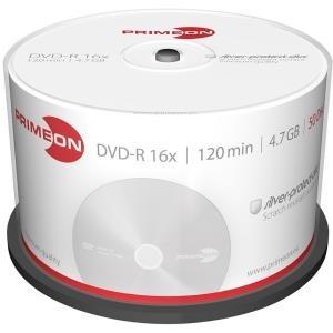 Primeon silver-protect-disc - 25 x DVD-R - 4.7 GB (120 Min.) 16x (DVD) - Spindel