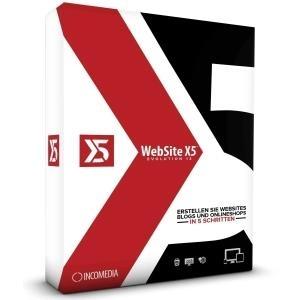 Avanquest/Incomedia WebSite X5 Evolution 13 Liz...