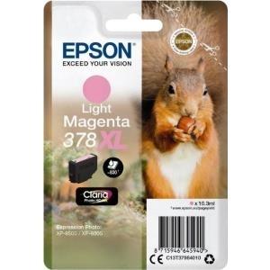 Epson 378XL - 10,3 ml - XL - hell Magenta - Original - Blisterverpackung - Tintenpatrone (C13T37964010)