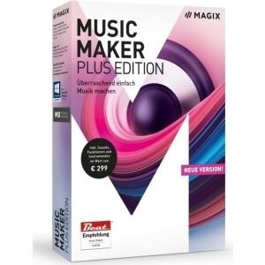 MAGIX Music Maker - Plus Edition - Box-Pack - W...
