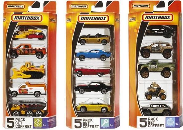 Mattel C1817 - Mehrfarbig - Vehicle set - Metall - Matchbox - 3 Jahr(e) - Thailand (ZM-1817)