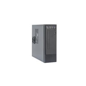 Chieftec Flyer Series FI-03B - Desktop Slimline - Mini-ITX - Stromversorgung 250 Watt (TFX12V) - Schwarz - USB/Audio (FI-03B)