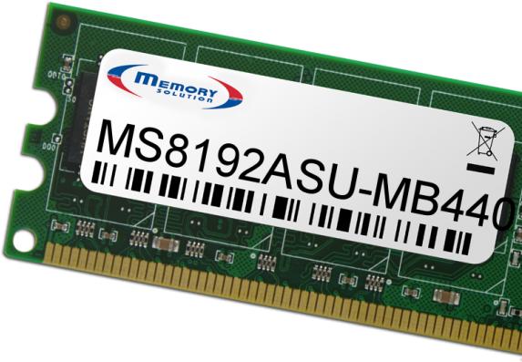 Memorysolution 8GB ASUS Pegatron IPMSB-DA/B75 (MS8192ASU-MB440)