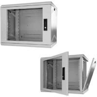 Schweitzertechnik Schweitzer EasyBox Standard - Wandschrank Hellgrau, RAL 7035 9U 48,3 cm (19) (KS 909212) - broschei