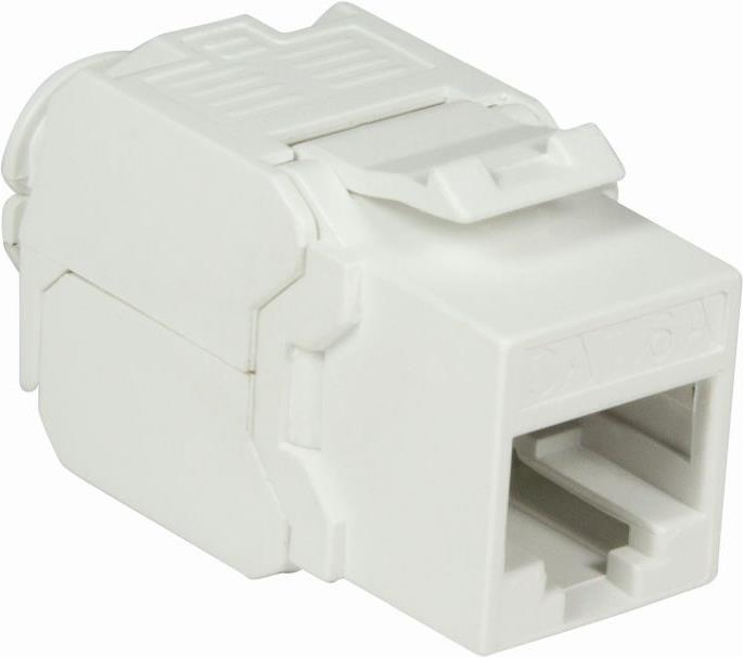 LogiLink NK4004 - Weiß - RJ45 - Cat6a - 16,3 mm - 38 mm - 23 mm (NK4004)