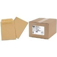 GPV Versandtaschen, C5, 162 x 229 mm, braun, Gewicht: 90 g selbstklebend, ohne Fenster, Großpackung - 1 Stück (1391)
