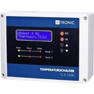H-Tronic Temperaturregler 1114490 Pt1000 -99 bis +850 °C Relais 3 A (L x B H) 60 120 160 mm (1114490) - broschei