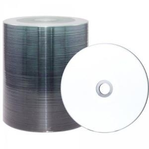 XLayer DVD+R 4.7GB XLayerPro 16x Inkjet white Full Surface Full Metalized 100er Bulk (105002)