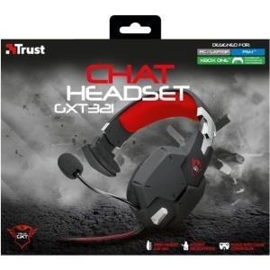 Trust GXT 321 Chat Headset - Headset - Full-Siz...