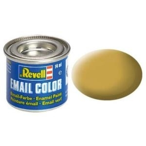 Revell Sand - matt RAL 1024 14 ml-Dose Farbe Gelb Kunstharz Emaillelackierung Zinn (32116)