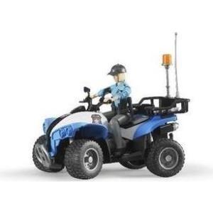 BRUDER Polizei Quad mit Polizistin - 63010 (63010)