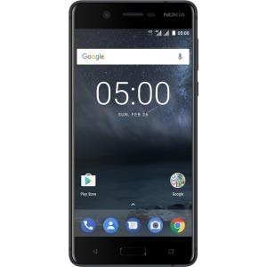 Smartphones, Handys - Nokia 5 Smartphone Dual SIM 4G LTE 16 GB microSDXC slot GSM 5.2' 1280 x 720 pixels IPS RAM 2 GB 13 MP (8 MP Vorderkamera) Android mattschwarz  - Onlineshop JACOB Elektronik