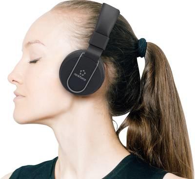 Audiozubehör - Renkforce Bluetooth® HiFi Stereo Headset RF BTK 100 On Ear Headset, Faltbar Schwarz Grau (1577240)  - Onlineshop JACOB Elektronik