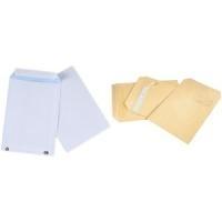 GPV Versandtaschen, C4, 229 x 324 mm, weiß, ohne Fenster mit Silikonstreifen, Gewicht: 90 g (4268)