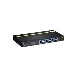 TRENDnet TEG S24G - Switch 24 x 10/100/1000 an Rack montierbar (TEG-S24G) - broschei