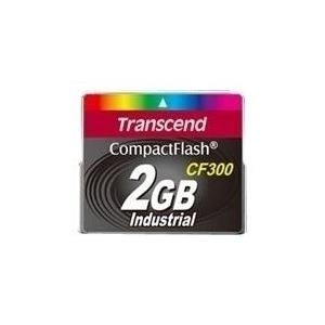 Speicherkarten, Speichermedien - Transcend CF300 Industrial Flash Speicherkarte 128 MB 300x CompactFlash  - Onlineshop JACOB Elektronik