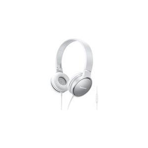 Kopfhörer - Panasonic RP HF300ME Kopfhörer mit Mikrofon On Ear weiß (RP HF300ME W)  - Onlineshop JACOB Elektronik