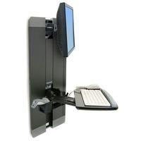 Ergotron Monitor-Wandhalterung 25,4cm (10 ) - 61,0cm (24 Neigbar+Schwenkbar StyleView Vertical Lif jetztbilligerkaufen