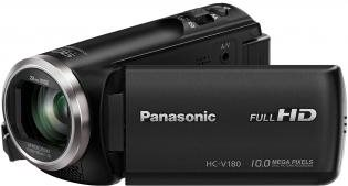 Camcorder - Panasonic HC V180 Camcorder High Definition 50 BpS 2,51 MPix 50 x optischer Zoom Flash Karte (HC V180EG K)  - Onlineshop JACOB Elektronik