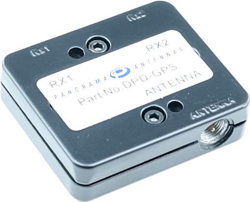 Panorama Antennas GPS Leitungsteiler zum Anschluss von 2 Funkgeräten an 1 Antenne, FME-Anschluss schwarz LxBxH: 4,8 x 5,6 x 1,4 cm Frequenzbereich: 1575MHzAnschlüsse: FME-Stecker (DPD-GPS)
