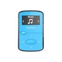 CD, MP3 Player - SanDisk Clip Jam Digitalplayer Flash 8GB Anzeige 2,5 cm (0,96) Blau (SDMX26 008G G46B)  - Onlineshop JACOB Elektronik