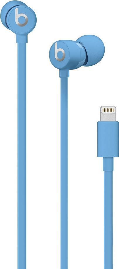 Image of Apple Beats urBeats3 - Ohrhörer mit Mikrofon - im Ohr - kabelgebunden - Lightning - Geräuschisolierung - Blau - für iPad/iPhone/iPod (Lightning) (MUHT2ZM/A)