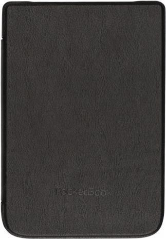 PocketBook Shell series - Flip-Hülle für eBook-Reader - Kunststoff, Polyurethan, Microfiber - Schwarz - für PocketBook B